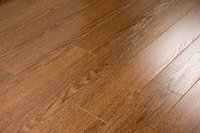 Ламинат Ecoflooring Brush Wood.  Цвет: Дуб шоколад 528