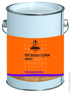 Паркетное масло LOBASOL Oil Base Color