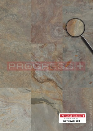 Виниловые полы PROGRESS Natural Stone Blanco Slate